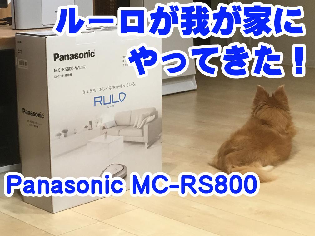 【レビュー】Panasonic ルーロを使ってみた!
