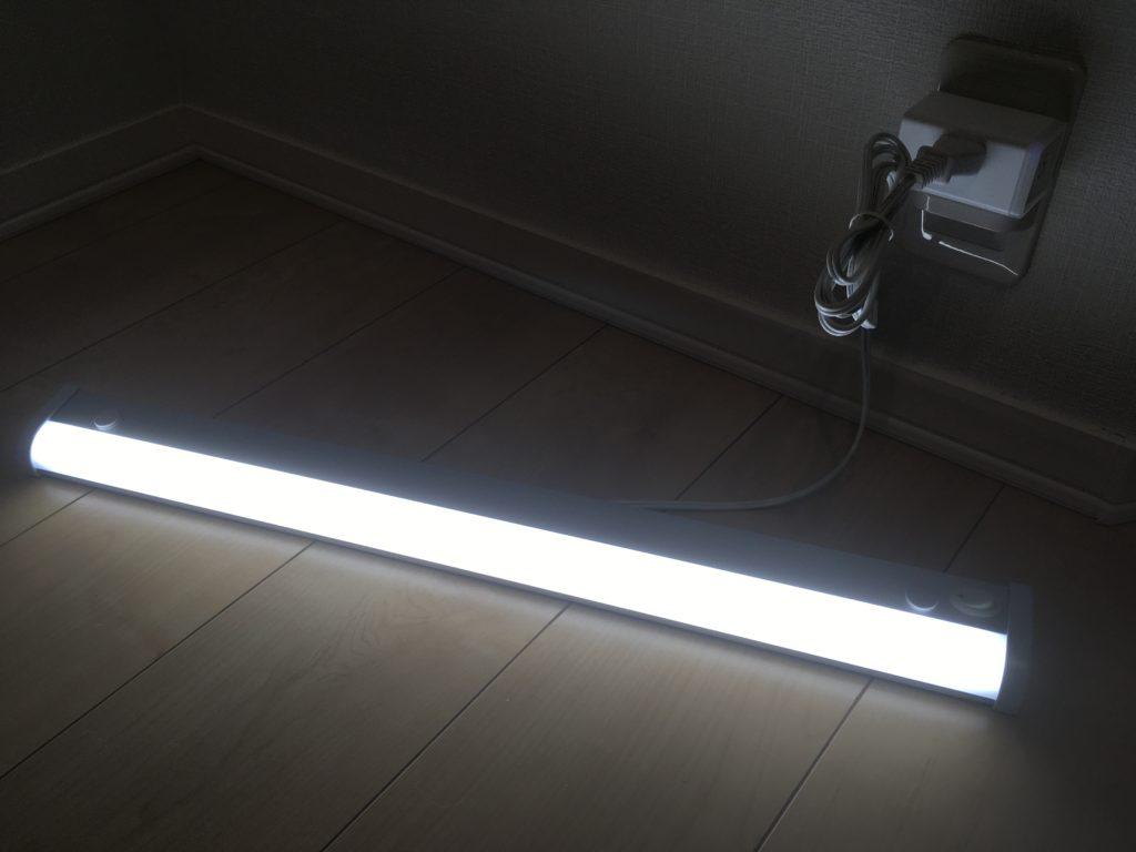 LED照明とHS105動作チェック