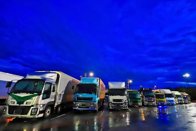 トラックパーキングエリア