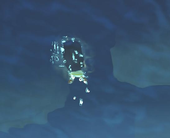 海底で獲物をGET!