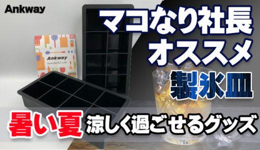 【マコなり社長オススメの製氷皿 シリコンAnkway】レビュー