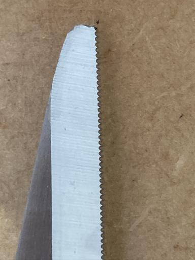 ギザギザの刃
