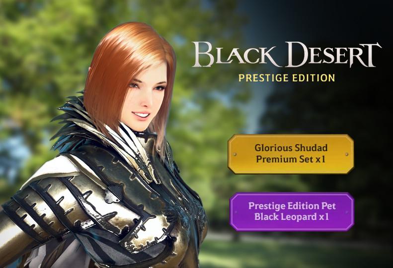 黒い砂漠PS4プレステージエディション画像