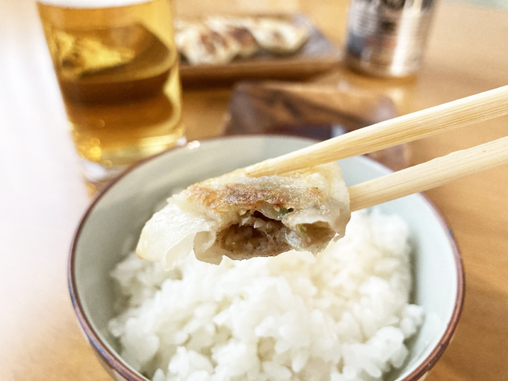 【お取り寄せ】白石麻衣さんおすすめ!一口餃子 ビールとご飯が合う!