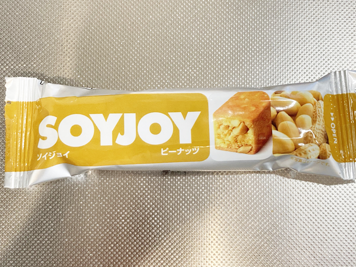 【マコなり社長おすすめSOYJOY】ソイジョイをレビュー!ピーナッツ味パッケージ