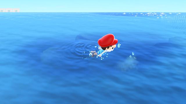 【あつ森】海の幸を1時間乱獲してみた!(3月北半球) 気泡を見つけては乱獲
