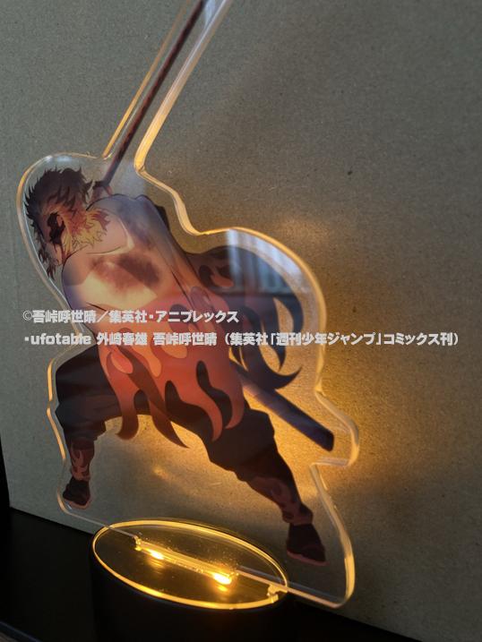 劇場版「鬼滅の刃」無限列車編 特典Blu-ray買ってみた! レビュー  心を燃やせアクリルスタンドその2