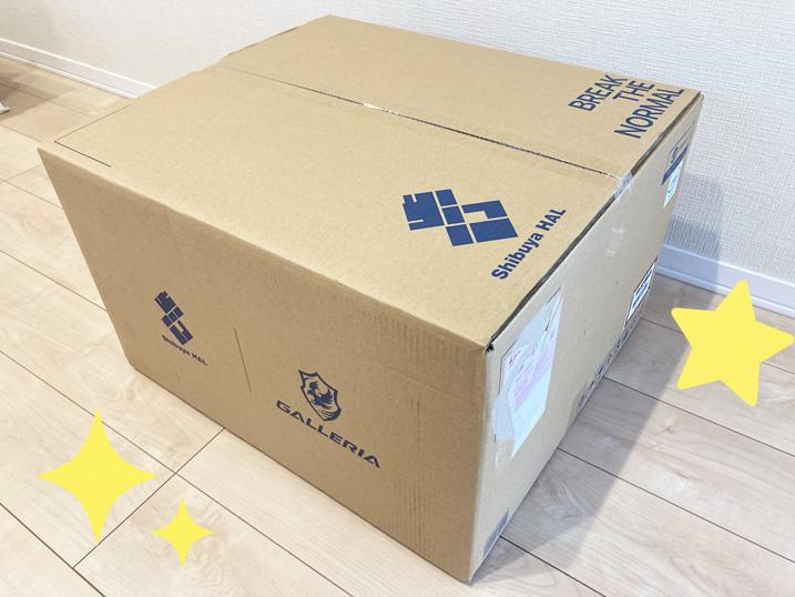 【ドスパラ】ガレリア×渋谷ハル コラボゲーミングPCを購入してみた!レビュー ヤマト運輸まで取りに行く