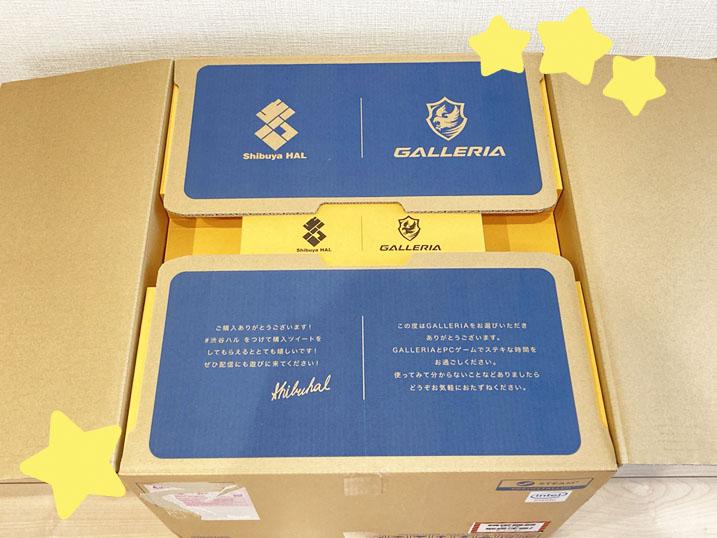 【ドスパラ】ガレリア×渋谷ハル コラボゲーミングPCを購入してみた!レビュー パッケージが豪華!
