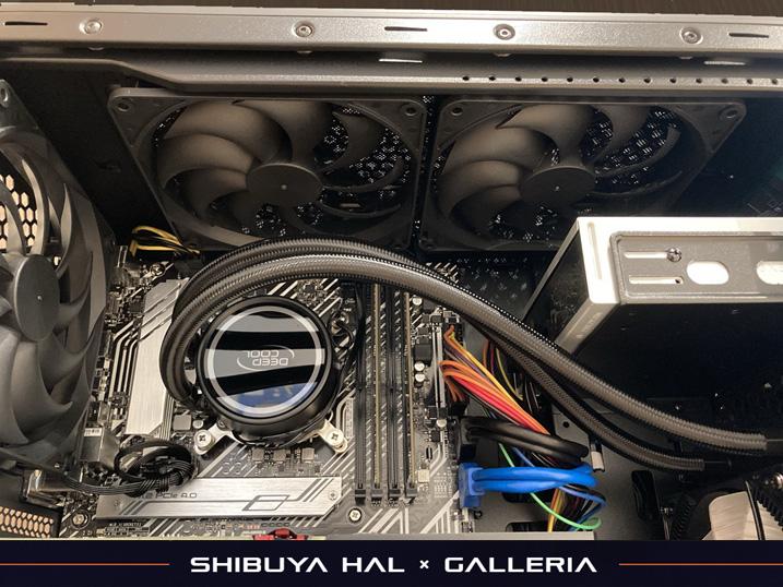 【ドスパラ】ガレリア×渋谷ハル コラボゲーミングPCを購入してみた!レビュー 簡易水冷CPUクーラー装備 L240