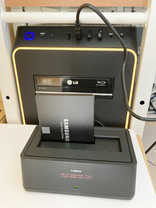 【HDD/SSDスタンド】古くなったPC内蔵HDDがそのまま使える!レビュー SSDをPCに接続