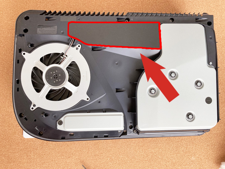 【PS5】あなたのPS5はハズレかも?!冷却ファンを交換してみた!ケーブル保護シートをはがす
